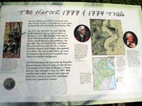Click to enlarge photo of Historic 1777 & 1779 American Revolution Trail marker.
