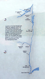 Click to enlarge photo of Chaining The Hudson map