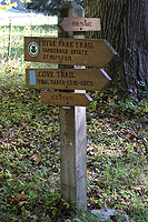 Click to enlarge photo of hiking trails at FDR historic site.