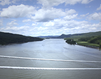 Click to enlarge photo of View on the Bear Mountain Bridge